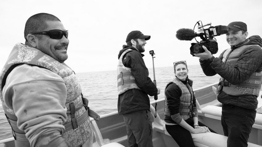 Ben Hamilton Conservation Filmmaking Pioneer Studios Oceanic Society Baja Video Production Stephanie Hogue Photo